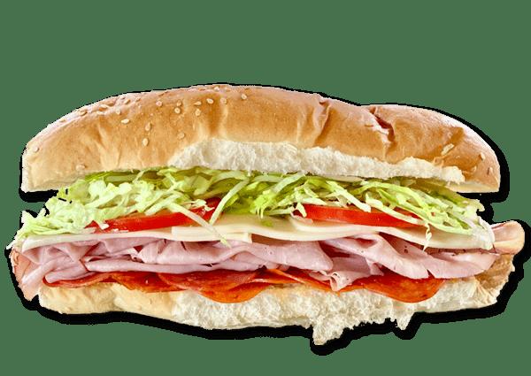 #8 Ham, Pepperoni & Mozzarella