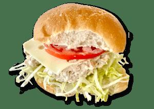 "4"" Tuna & Swiss Sandwich"